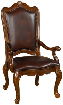 Universal  Villa Cortina Leather Arm Chair