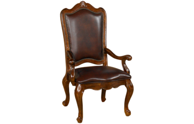 Universal  Villa Cortina Leather Arm Chair
