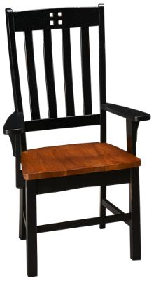Intercon  Rustic Mission Arm Chair