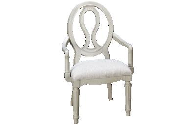 Universal Summer Hill Gray Arm Chair