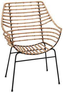 Magnolia Home Entwine Rattan Arm Chair