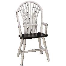 Canadel Ebony Cloud Arm Chair