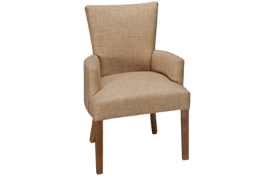 HB Designs Parsons Upholstered Arm Chair