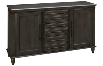 Whitewood Industries Banks 3 Drawer, 2 Door Farmhouse Chic Buffet