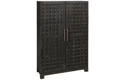 Klaussner Home Furnishings City Limits 2 Door Bar Cabinet