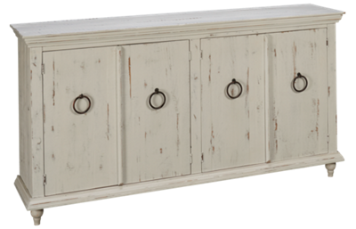 International Furniture Direct Capri 4 Door Console