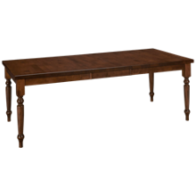 Canadel Cognac Table Complete with 1 Leaf