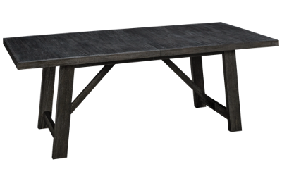 Klaussner Home Furnishings City Limits Rectangular Dining Table with Leaf
