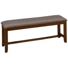 Crown Mark Clara Upholstered Bench