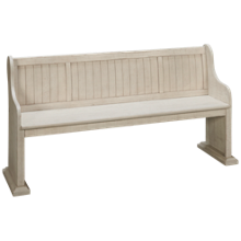Magnussen Bronwyn Bench with Back