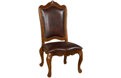 Universal Villa Cortina Leather Side Chair