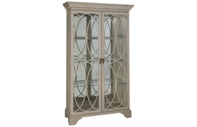 Klaussner Home Furnishings Jasper County Melinda Display Curio