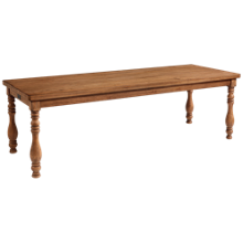 Magnolia Home 7' Vase Turned Dining Table