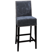 """Container Marketing Aiken 24"""" Bar Stool With Nailhead"""