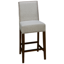 Container Marketing Aiken Upholstered Counter Stool