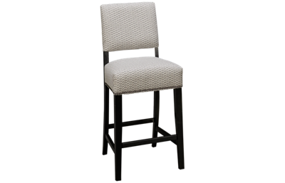HB Designs Barstools Upholstered Counter Stool with Nailhead
