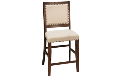 Jofran Fairview Counter Stool with Nailhead