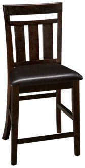 Jofran Kona Grove Slat Back Counter Stool