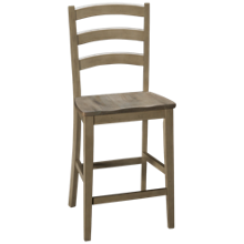 "Winners Only Ridgewood 24"" Ladder Back Bar Stool"