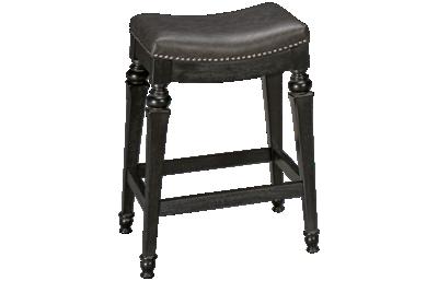 Hillsdale Furniture Vetrina Counter Stool with Nailhead
