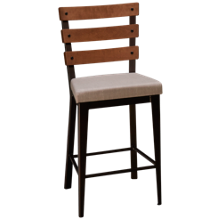 Amisco Dexter Stationary Counter Stool