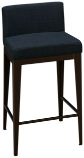 "Amisco Ethan 26"" Stationary Stool"