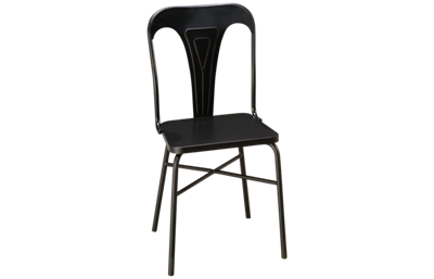 Magnolia Home Gaven Metal Stamped Chair