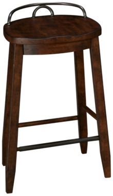 Klaussner Home Furnishings Trisha Yearwood Home Cowboy Counter Stool