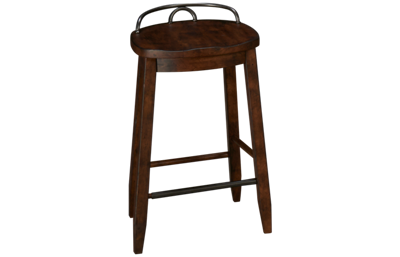 Klaussner Home Furnishings Trisha Yearwood Home Cowboy Bar Stool