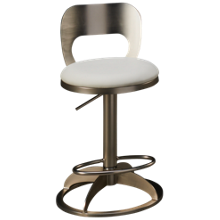 Chintaly Imports Chambers Adjustable Swivel Stool