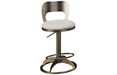 Chintaly Imports Chambers Adjustable Swivel Counter Stool