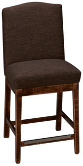 Canadel Champlain Upholstered Stationary Stool
