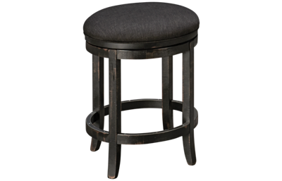 Canadel Champlain Upholstered Swivel Counter Stool