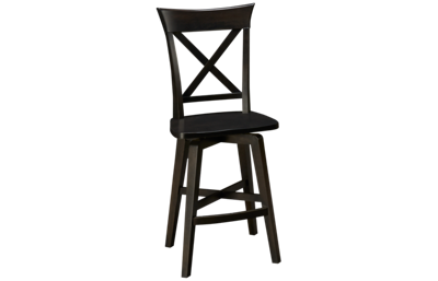 Canadel Davy's Grey Swivel Counter Stool