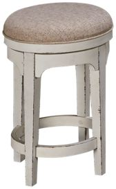 "Liberty Furniture Magnolia Manor 26"" Swivel Counter Stool"