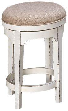 "Liberty Furniture Magnolia Manor 26"" Swivel Counter Stool"