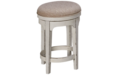 Liberty Furniture Magnolia Manor Swivel Counter Stool