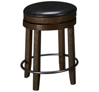 Sunny Designs Harry 24 Swivel Backless Counter Stool Product Image Unavailable