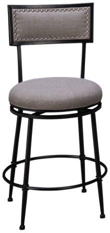 Hillsdale Furniture Theilmann Swivel Counter Stool