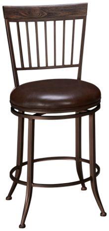 Hillsdale Furniture Hawkins Swivel Counter Stool