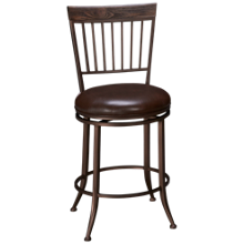 Hillsdale Furniture Hawkins Swivel Counter Stool