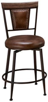 Hillsdale Furniture Danforth Swivel Counter Stool