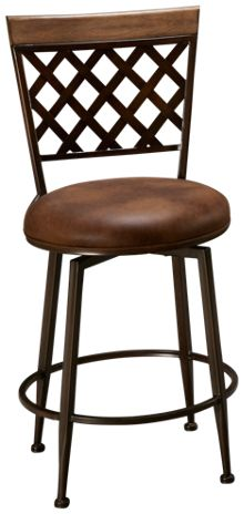 Hillsdale Furniture Greenfield Swivel Counter Stool