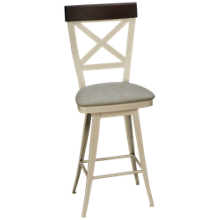 Amisco Kyle Swivel Counter Stool