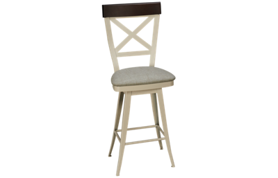 "Amisco Kyle 26"" Swivel Stool"