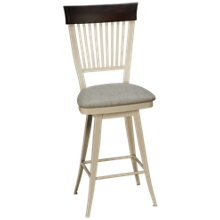 Amisco Annabelle Swivel Counter Stool
