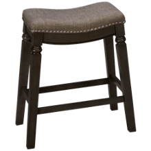 "Crown Mark Farlin 24"" Stationary Stool"