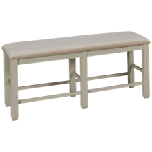 Jofran Dana Point Upholstered Counter Bench