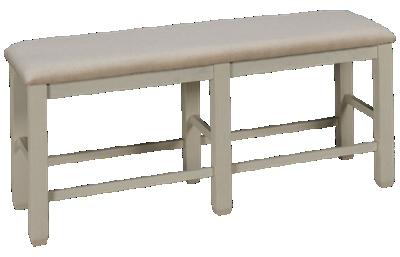 Jofran Dana Point Upholstered Counter Bench