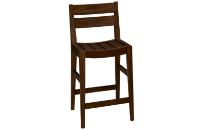 Liberty Furniture Color Nook Slat Back Counter Stool